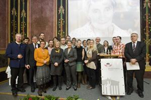 "Partizipationsprojekt ""JungbürgerInnen-Räte"" erhält den Maragrethe Lupa Demokratiepreis im Parlament"
