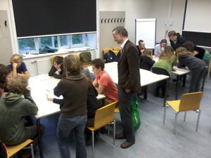 Vortrag, Diskussion und Gruppenarbeit mit Studierenden der Universität für Bodenkultur