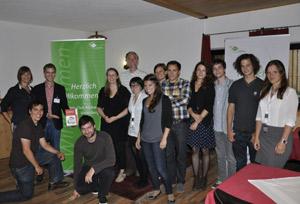 Bei der Diskussion mit Studierenden am Forum Alpbach 2013
