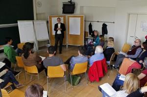 """MitarbeiterInnen-Beteiligungsformat """"Unternehmens-Rat"""" Live-Demo am Gemeinwohlökonomie-Kongress Graz 2014"""