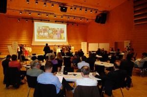 Ergebnispräsentation durch die Bürgerrätinnen und Bürgerräte des ersten landesweiten Kärntner BürgerInnen-Rates