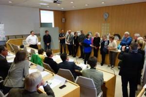 Ergebnispräsentation des landesweiten Salzburger Mobilitäts-BürgerInnen-Rates im Chiemseehof