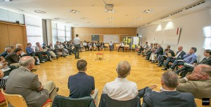 Großgruppenmoderation der Alpbach-Laxenburg Gruppe am Forum Alpbach 2015
