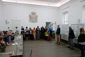 Ergebnispräsentation des Mobilitäts-BürgerInnen-Rates im Chiemseehof, Salzburg